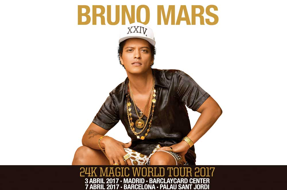 Gira Bruno Mars
